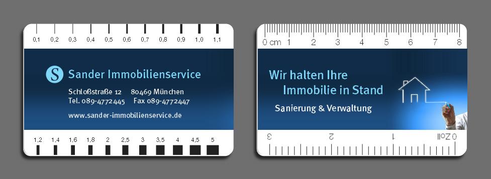 Druck Risslineal / Risslineale / Risskarte / Rissbreitenlineal