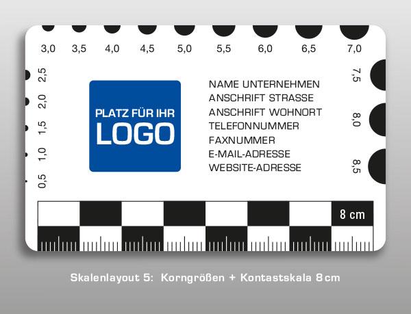Druck Rissbreitenlineale / Rissbreitenlineal / Risslineale / Risslineal / Risskarte / Risskarten
