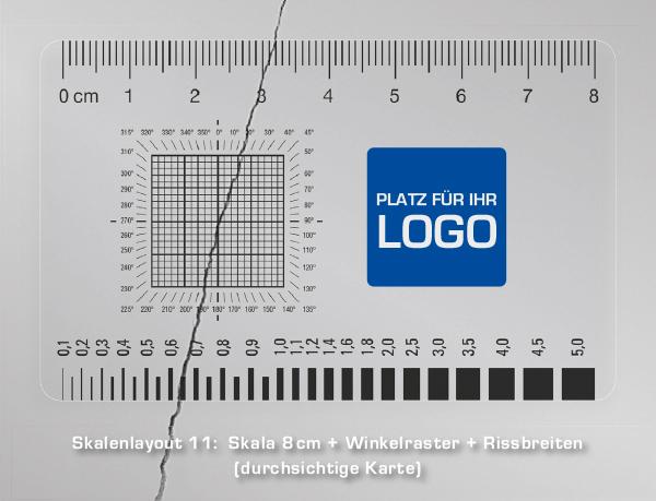 Druck Fotomaßstab / Graukeil / Karte / Logo / Farbvergleichsfeld